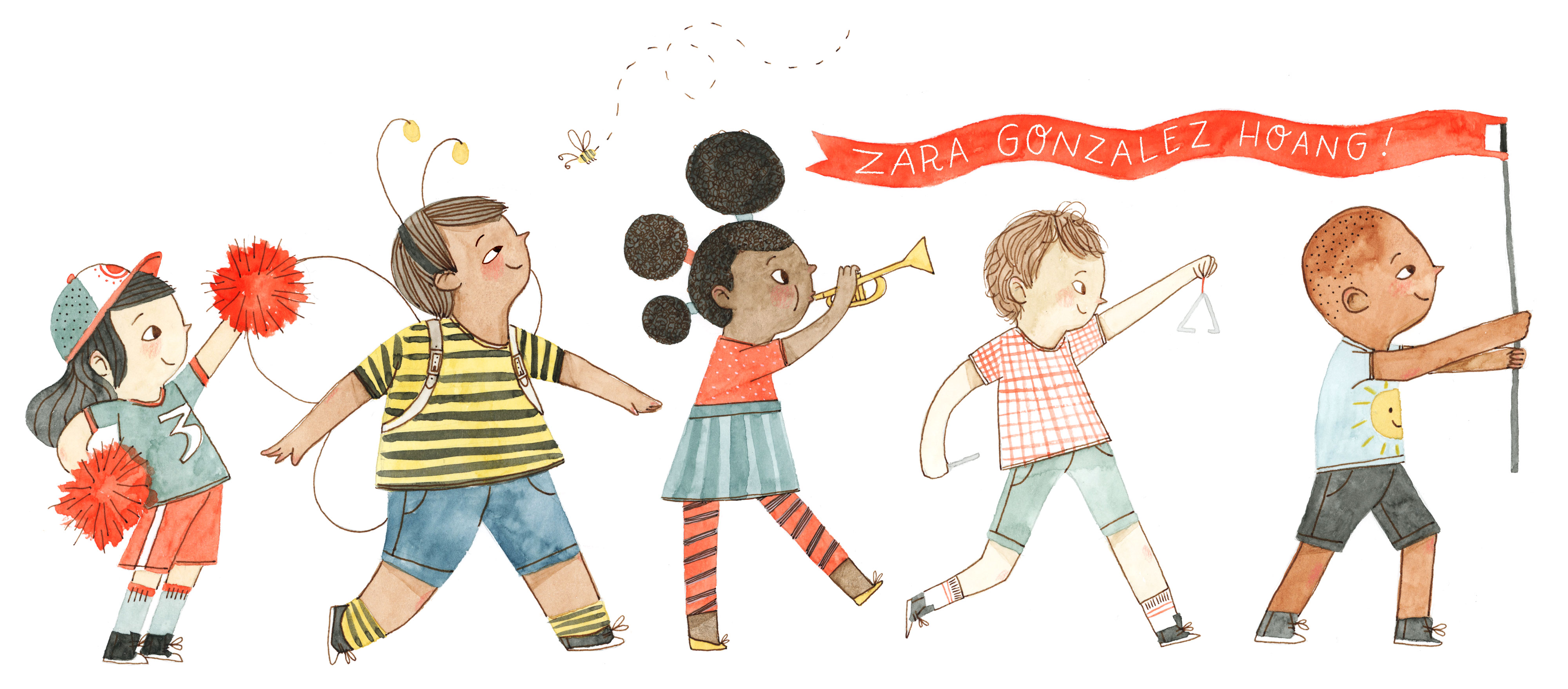 Zara Gonzalez Hoang Illustration